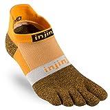 Injinji Run Lightweight Socks No-Show Black