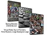 Success Cycling 3Spring Classics Turbo Training DVD Boxset–Tour, Flandern, Paris-Roubaix, Lüttich Bastogne Lüttich