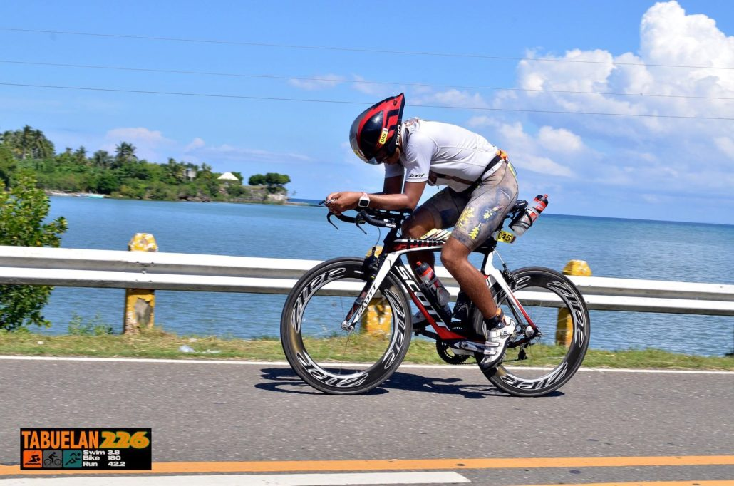 John Rueth, ironman triathlon Cebu 2017
