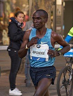 Eliud Kipchoge, Marathon-Weltrekord