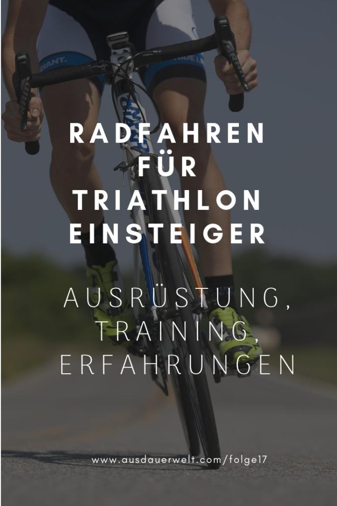 radfahren fuer triathlon einsteiger