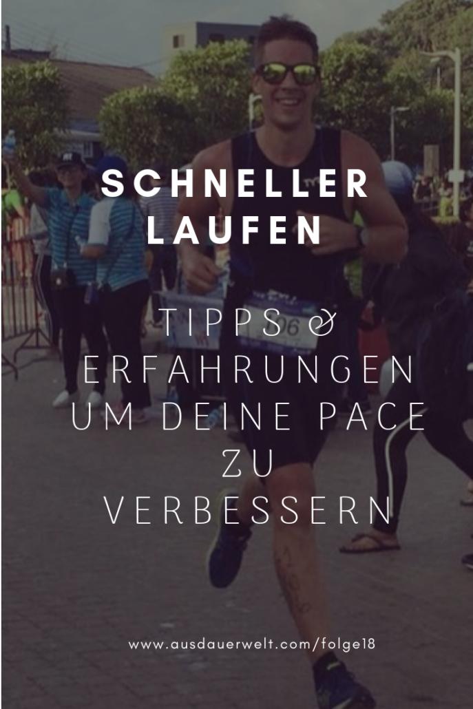 Schneller Laufen tipps für bessere pace