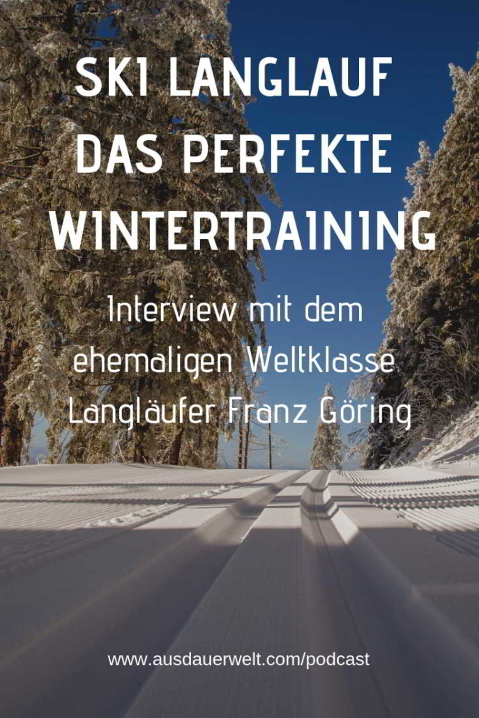 langlaufen wintertraining ausdauer triathlon