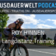 Roy Hinnen Interview Erste Langdistanz Training