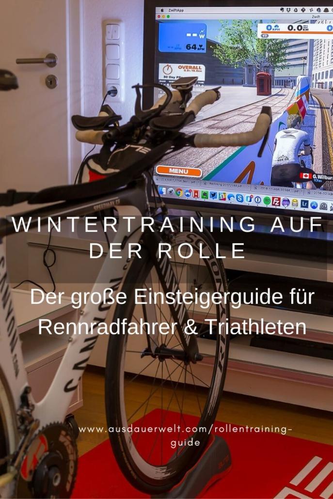 wintertraining auf der rolle für rennrad und triathlon einsteiger guide tipps